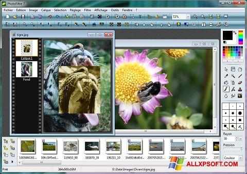 Screenshot PhotoFiltre Windows XP