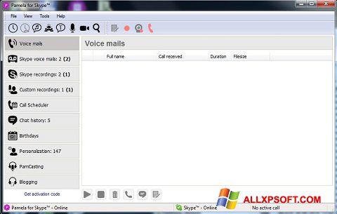 Screenshot Pamela for Skype Windows XP