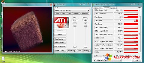 Screenshot ATITool Windows XP