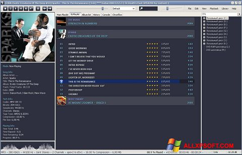 Screenshot Foobar2000 Windows XP