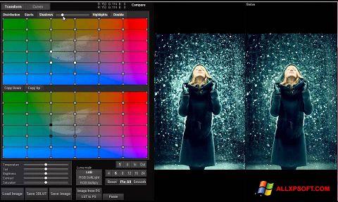 Screenshot 3D LUT Creator Windows XP