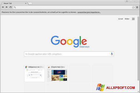 Screenshot Google Chrome Windows XP