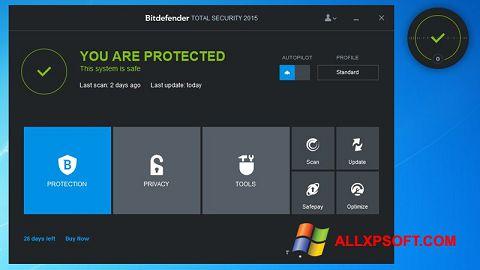 Screenshot Bitdefender Windows XP
