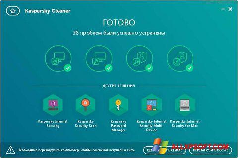 Screenshot Kaspersky Cleaner Windows XP