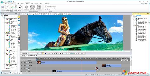 Screenshot Free Video Editor Windows XP