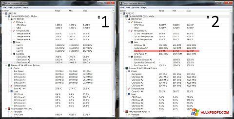 Screenshot Open Hardware Monitor Windows XP