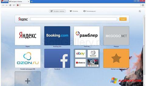 Screenshot Opera Next Windows XP