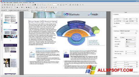 Screenshot Master PDF Editor Windows XP