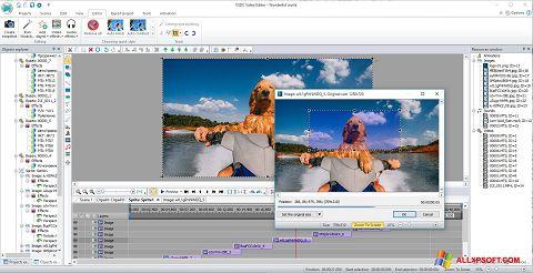 Screenshot VSDC Free Video Editor Windows XP
