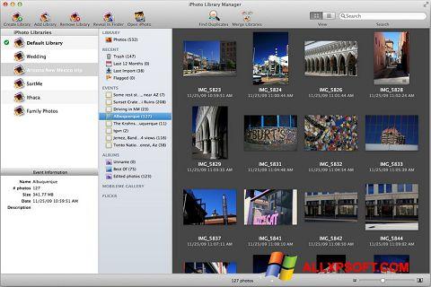 Screenshot iPhoto Windows XP