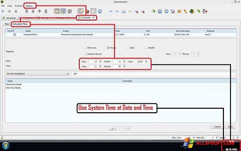 Screenshot JDownloader Windows XP