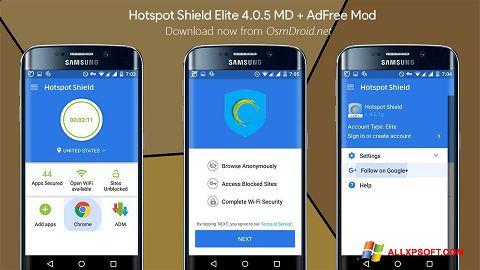 Screenshot Hotspot Shield Windows XP