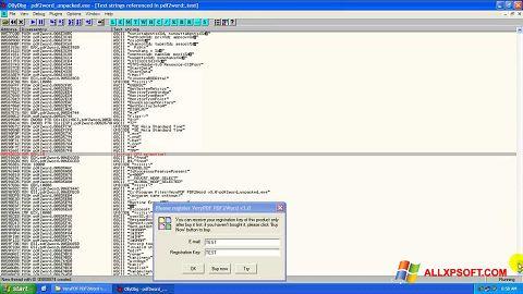 Screenshot PDF2Word Windows XP