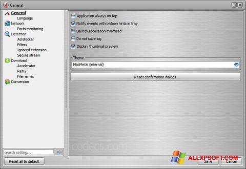 Screenshot VSO Downloader Windows XP