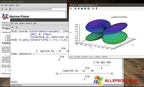 Screenshot Maxima Windows XP
