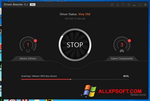 Screenshot Driver Booster Windows XP
