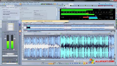 Screenshot WaveLab Windows XP