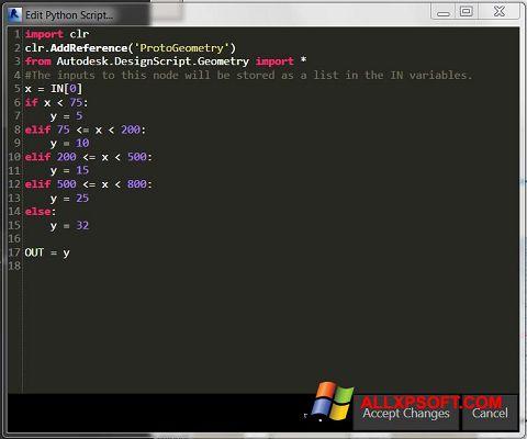Screenshot Python Windows XP